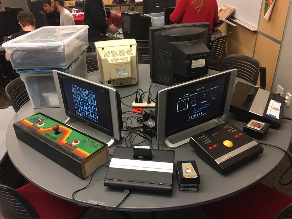 Mini Atari Party at Sacramento Indie Arcade 2017